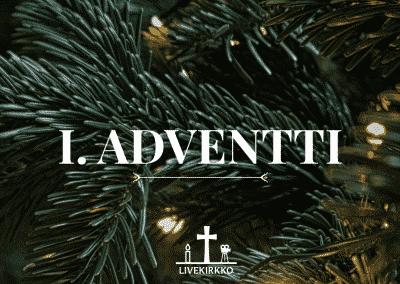 01.12.2019 – 1. Adventin jumalanpalvelus Hyvän Paimenen kirkosta