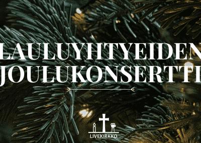 14.12.2019 – Lauluyhtyeiden joulukonsertti