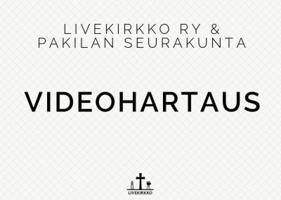 Livekirkon videohartaus 17.03.2020