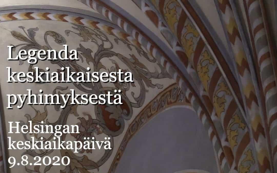 Legenda keskiaikaisesta pyhimyksestä – Schola Sancti Henrici ja Jenni Kuuliala
